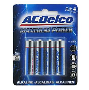 blister card for battery